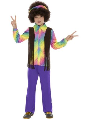 Hippy Aroma For Sale - Hippy Aroma costume. Includes groovy printed top with matching headband and trousers. | The Costume Corner Fancy Dress Super Store