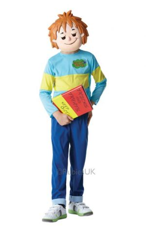 Horrid Henry For Sale - Horrid Henry boy costume with Printed top, trousers and mask. What hilarious hoaxes, scares, dares, pranks and tricks will you get up to as mischievous Horrid Henry? ... | The Costume Corner Fancy Dress Super Store