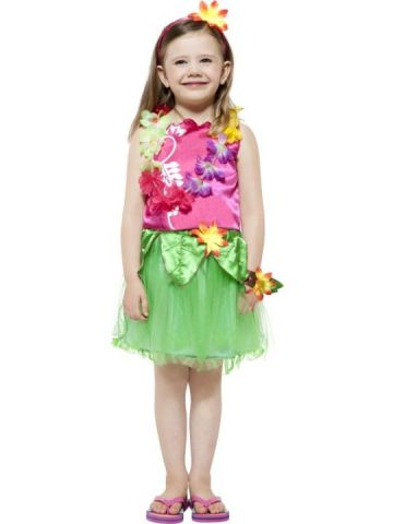 Hula Hula Girl For Sale - Hula Hula Girl Costume, Top, Skirt, Headband, Garland and Wristband | The Costume Corner Fancy Dress Super Store