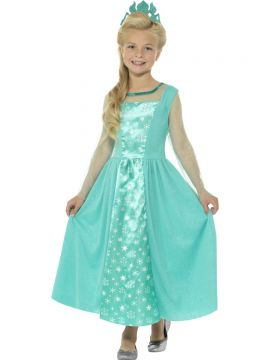 Ice Princess For Sale - Ice Princess Costume Blue with Dress and Crown | The Costume Corner Fancy Dress Super Store