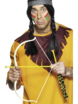 Indian Bow and Arrow Set For Sale - Indian Bow and Arrow Set, 54cm | The Costume Corner Fancy Dress Super Store