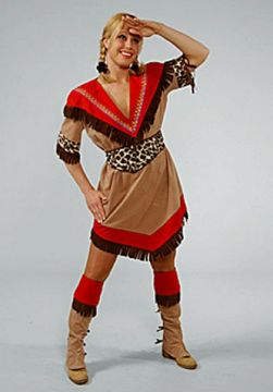 Indian Squaw Dress For Sale - Indian Squaw Dress (Hire Costume) | The Costume Corner
