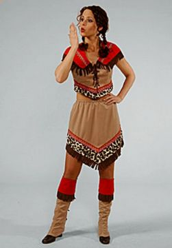 Indian Squaw two piece For Sale - Indian Squaw two piece (Hire Costume) | The Costume Corner