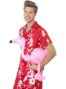 Inflatable Flamingo For Sale - Inflatable Flamingo, Pink, 60cm | The Costume Corner Fancy Dress Super Store