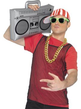 Inflatable Ghetto Blaster For Sale - Inflatable Ghetto Blaster, 50cm | The Costume Corner Fancy Dress Super Store