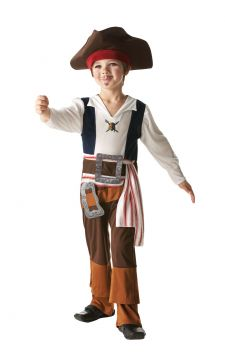 Jack Sparrow For Sale - A pirate's life for me! Take to the high seas as Captain Jack Sparrow, star of Pirates of the Caribbean. Will you keep command of your flagship, the Black Pearl, and fend off t... | The Costume Corner Fancy Dress Super Store
