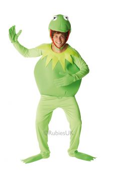 Kermit For Sale - Padded headpiece, long sleeved padded top with attached hands and trousers with attached feet.Who can resist Kermit The Frog? Millions of fans of The Muppet Show and one ... | The Costume Corner Fancy Dress Super Store