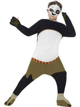 Kung Fu Panda For Sale - Padded all in one with mask | The Costume Corner Fancy Dress Super Store