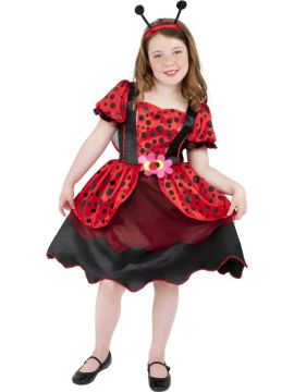 Little Lady Bug For Sale - Little Lady Bug Costume, Red, With Dress, Wings and Headband | The Costume Corner Fancy Dress Super Store