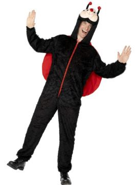 Lady Bug For Sale - Adult Lady bug costume with hood. | The Costume Corner Fancy Dress Super Store