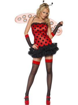 Ladybug Fairy For Sale - Fever Ladybug Fairy Costume, With Tutu Dress, Wings and Headpiece | The Costume Corner Fancy Dress Super Store