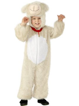 Lamb Costume, Small For Sale - Lamb Costume, Small, includes Jumpsuit with Hood, in Display Bag | The Costume Corner Fancy Dress Super Store