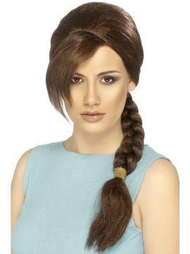 Wig - Lara Croft For Sale - Lara Croft Wig | The Costume Corner Fancy Dress Super Store