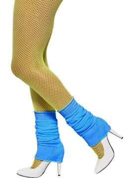 Legwarmers For Sale - Legwarmers, Neon Blue, in Display Pack | The Costume Corner Fancy Dress Super Store