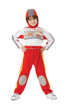 Lightening Mc Queen For Sale - Calling all Lightning McQueen and Cars fans to the starting grid! This all-in-one racing suit is all set to take a few knocks - from Chick Hicks or whoever you finish up racing... | The Costume Corner Fancy Dress Super Store