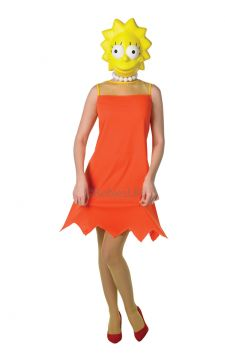 Lisa Simpsion For Sale - Classic adult Lisa Simpsion costume. | The Costume Corner Fancy Dress Super Store