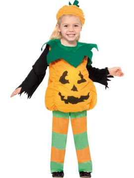 Little Pumpkin Costume For Sale - Little Pumpkin Costume, Top, Trousers and Hat, in Display Bag | The Costume Corner Fancy Dress Super Store