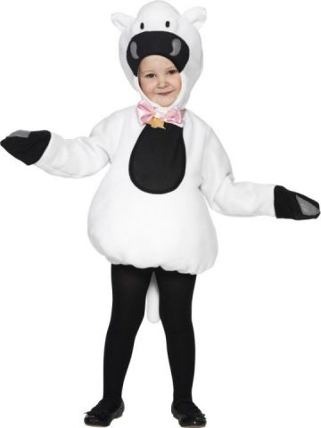 Little Sheep For Sale - Little Sheep costume with tabbard and hood. | The Costume Corner Fancy Dress Super Store