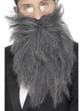 Long Beard and Tash For Sale - Long Beard and Tash, Grey, in Display Bag | The Costume Corner Fancy Dress Super Store