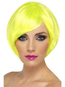 Babe Wig - Yellow For Sale -  | The Costume Corner Fancy Dress Super Store