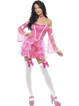 Marie Antoinette For Sale - Fever Marie Antoinette Sparkle Costume, With Dress, Sleeves and Choker | The Costume Corner Fancy Dress Super Store
