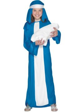 Mary For Sale - Mary Child Costume, With Dress and Headpiece. | The Costume Corner Fancy Dress Super Store