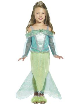 Mermaid Princess For Sale - Mermaid Princess Costume, Dress With Sleeves | The Costume Corner Fancy Dress Super Store