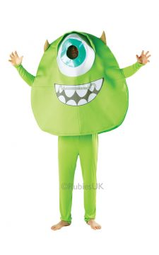 Mike For Sale - Large over the head top, trousers and glovelets. This full-size Mike outfit is a guaranteed eye-opener. Start generating energy by scaring others the minute you step out i... | The Costume Corner Fancy Dress Super Store