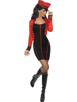 Military Popstar For Sale - Military Popstar Costume, with Dress and Jacket | The Costume Corner Fancy Dress Super Store