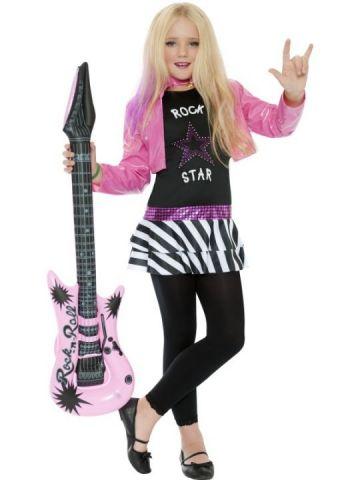 Mini Rock Star Glam For Sale - Mini Rock Star Glam girl costume | The Costume Corner Fancy Dress Super Store