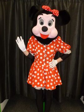 Minnie Mouse Mascot For Sale -  | The Costume Corner