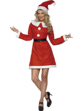 Miss Santa For Sale - Miss Santa Costume, with Dress, Belt and Hat | The Costume Corner Fancy Dress Super Store