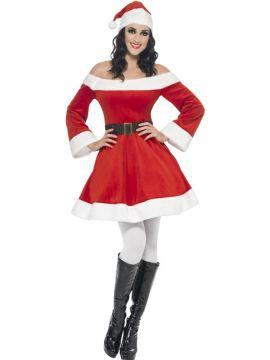 Miss Santa For Sale - Miss Santa Costume, with Dress, Belt and Hat | The Costume Corner Fancy Dress Super Store