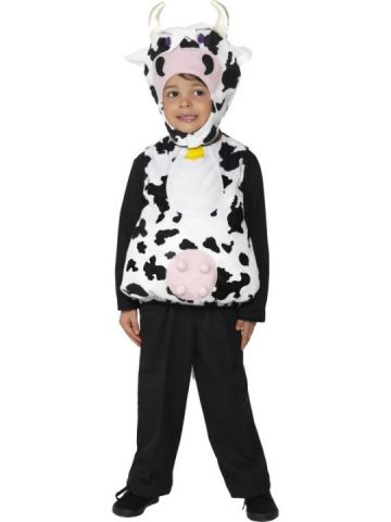 Moo Cow For Sale - Moo Cow Costume With Tabard and Hood | The Costume Corner Fancy Dress Super Store