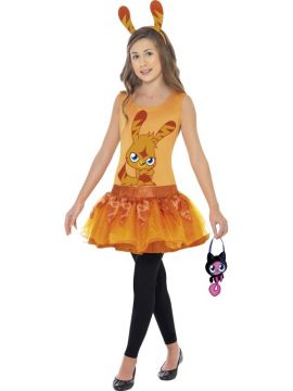 Moshi Monsters Katsuma For Sale - Moshi Monsters Katsuma Costume, with Tutu Dress, Headband and Bag | The Costume Corner Fancy Dress Super Store