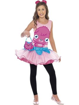 Moshi Monsters Poppet For Sale - Moshi Monsters Poppet Costume, Pink, with Tutu Dress, Headband and Bag. | The Costume Corner Fancy Dress Super Store