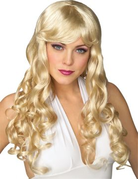 Movie Starlet Wig For Sale - Blonde Movie Starlet Wig | The Costume Corner Fancy Dress Super Store
