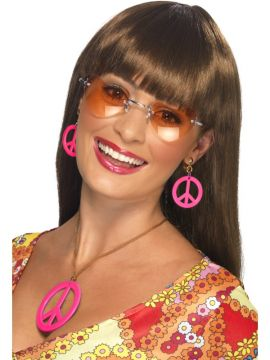 Necklace and Earring Set For Sale - Necklace and Earring Set, Assorted Neon Colours, CND Style   The Costume Corner Fancy Dress Super Store