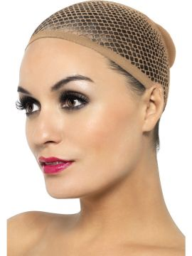 Nude Mesh Wig Cap For Sale - Nude Mesh Wig Cap, in Display Pack | The Costume Corner Fancy Dress Super Store