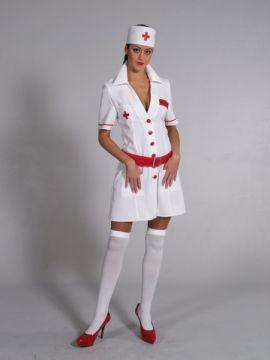Nurse Red/White For Sale - Nurse Red/White (Hire Costume) | The Costume Corner