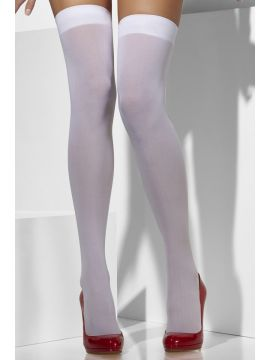 Opaque Hold-Ups For Sale - Opaque Hold-Ups, White, in Display Box | The Costume Corner Fancy Dress Super Store