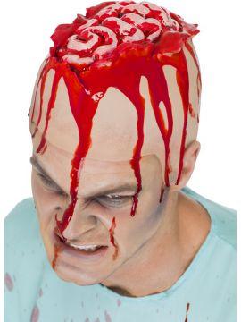 Open Brain Head Cap For Sale - Open Brain Head Cap, Flesh, Latex, in Display Pack | The Costume Corner Fancy Dress Super Store