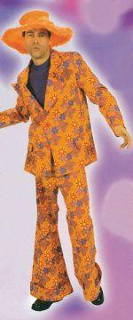 Orange 70s Male Suit For Sale - Orange 70s Male Suit (Hire costume) | The Costume Corner