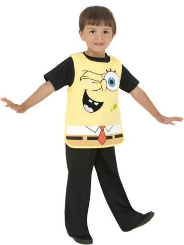 Patrick - Spongebob Tabard For Sale - Spongebob and Patrick costume. Includes reversible tabbard. | The Costume Corner Fancy Dress Super Store