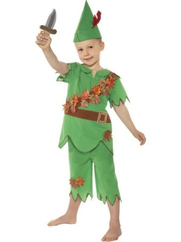 Peter Pan For Sale - Peter Pan Costume. Includes hat, top, trousers and dagger. | The Costume Corner Fancy Dress Super Store