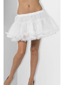 Petticoat For Sale - Petticoat, White, with Satin Band, in Display Pack | The Costume Corner Fancy Dress Super Store