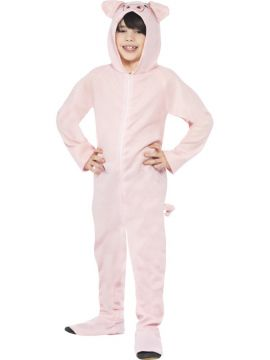 Pig For Sale - All in one with hood | The Costume Corner Fancy Dress Super Store