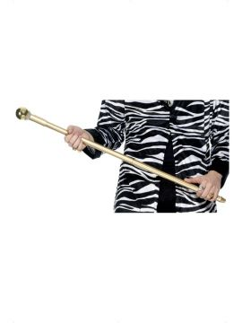 Pimp Cane For Sale - Pimp Cane, Gold, with Diamante | The Costume Corner Fancy Dress Super Store
