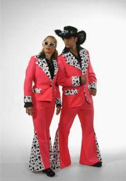 Pimp Pink Suit For Sale - Pimp Pink Suit (Hire Costume) | The Costume Corner