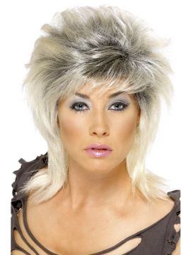 Pin Up Wig For Sale - Pin Up Wig 2 tone blonde and black. | The Costume Corner Fancy Dress Super Store